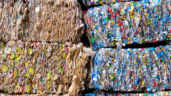 BEC Group Mechanics and the Use of Recycled Materials: Plastic Waste Bales