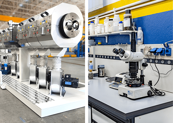 Bausano's special extrusion lines for bioplastic compounds: a powerhouse of technology