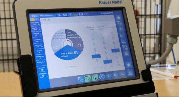 KraussMaffei: LRX EasyControl Interface