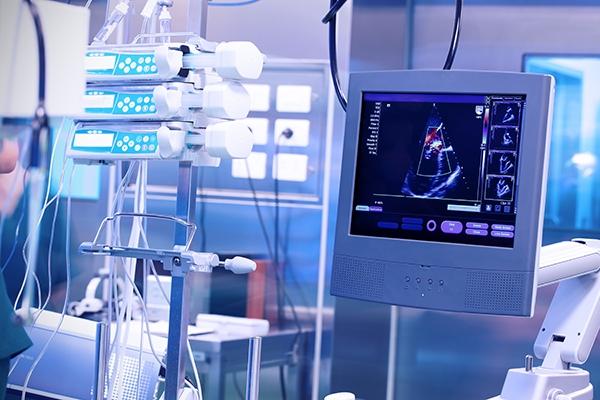 Ampacet: Ultrasound Machine in a Modern Operating Laboratory