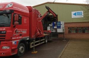 White Horse Plastics Receiving Wittmann Battenfeld Machine Delivery