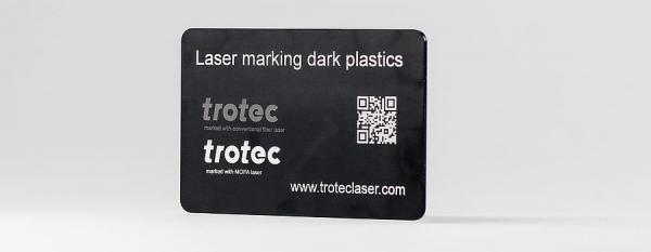 Trotec Laser Marking Dark Plastics