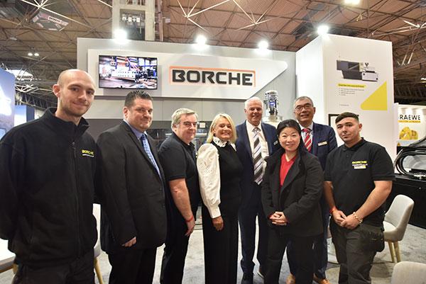 Borche team at Interplas