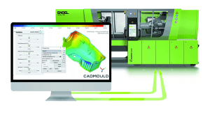 ENGEL injection moulding machine and sim link