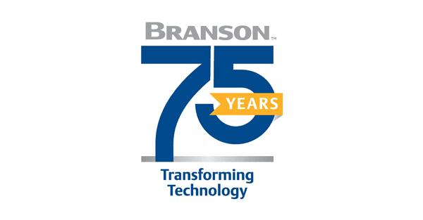 Emerson: Branson 75 Years Logo