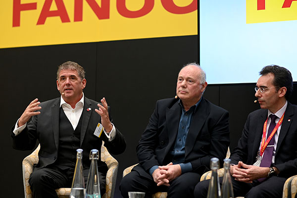 FANUC UK's Tom Bouchier at the 2019 Open House